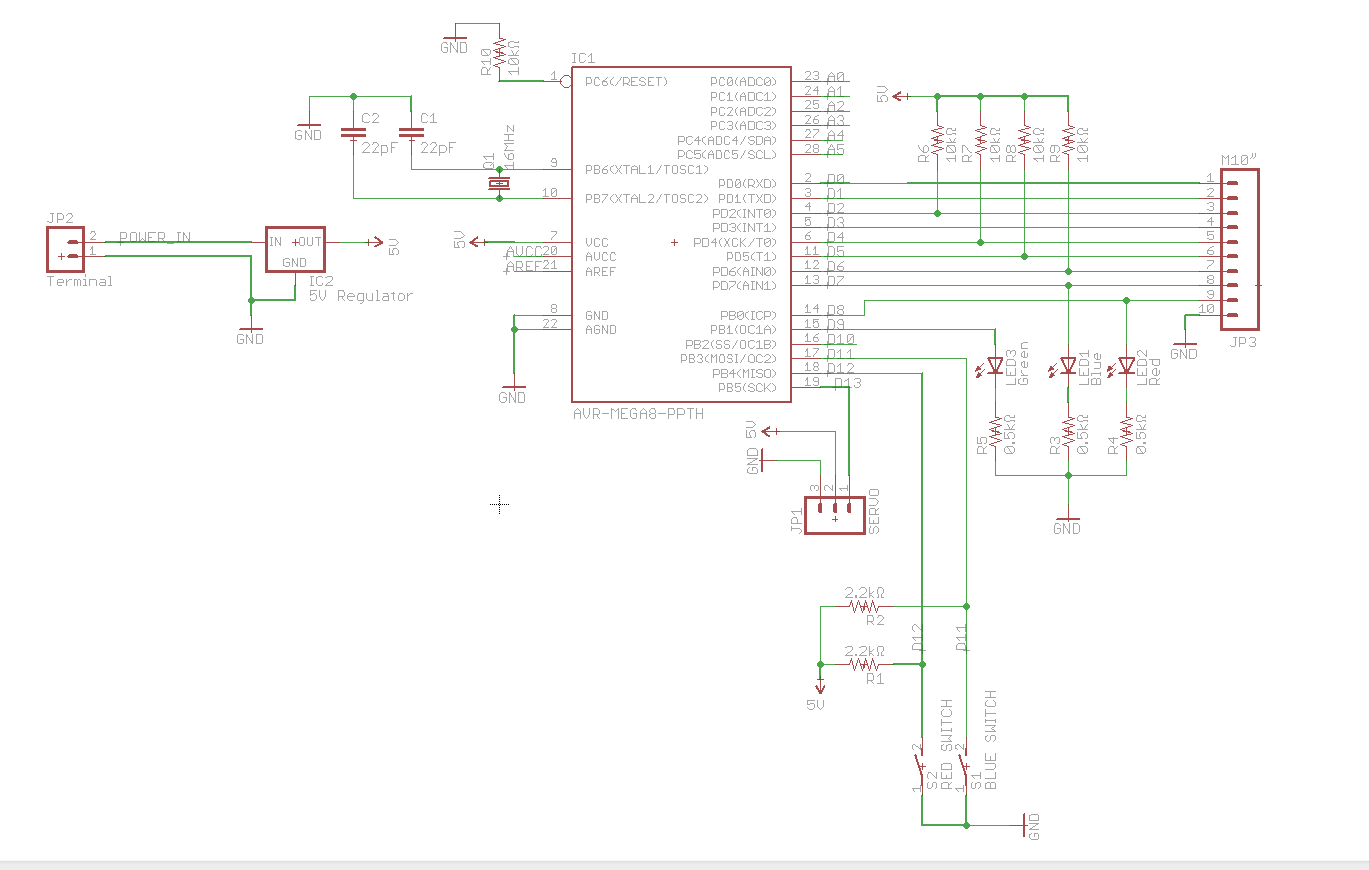 down in etched circuit but works as expected in breadboard circuit