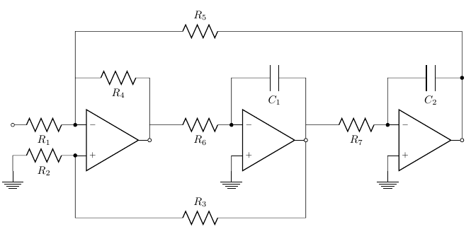 Diagnosing not-working filter circuits