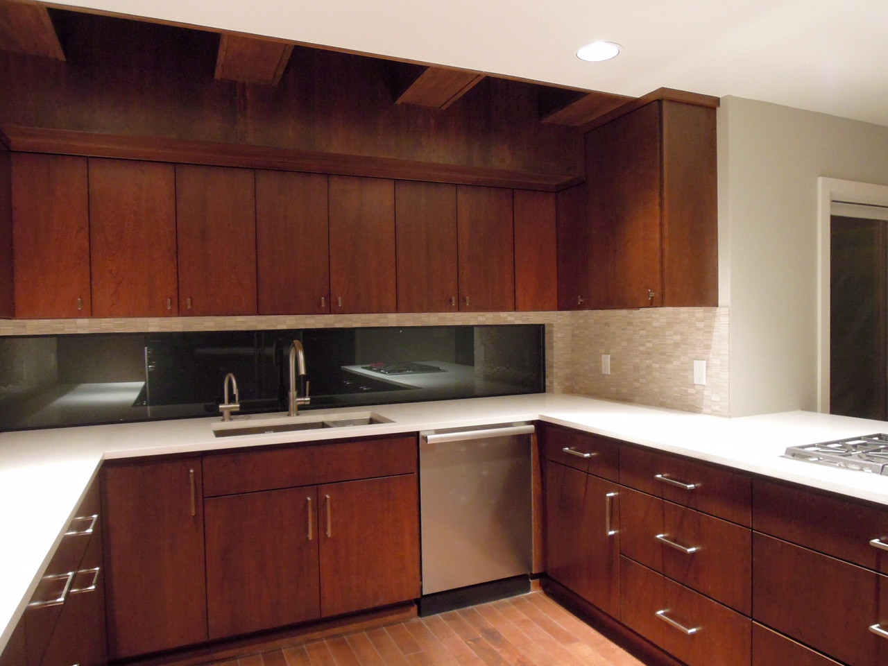electrical  Do undercabinet outlets need to be provided above a window  Home Improvement