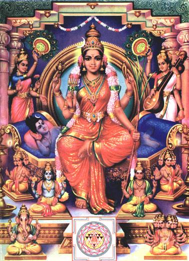 Maa Tara Wallpaper Hd Mythology Why Does Lalitha Devi Sit On Shiva Hinduism