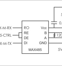 microcontroller is there any way to use half duplex rs485 without rs485 half duplex wiring diagram [ 1619 x 911 Pixel ]