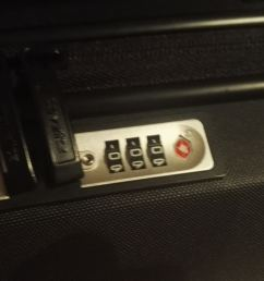 bought new tsa suitcase it s locked itself how to open it  [ 1280 x 719 Pixel ]