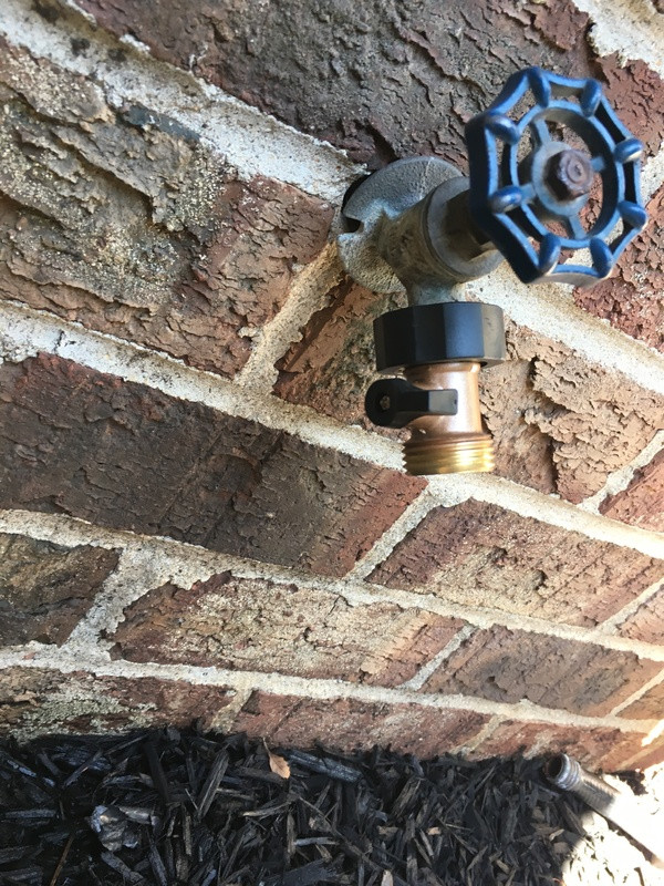 plumbing  Is it okay to use a ball joint coupler to stop