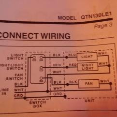 Wiring Diagram For Bathroom Fan And Light Sony Car Audio System Electrical Help Home Improvement