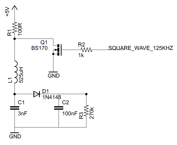 simple circuit diagram wiring motor signal - rfid reader am demodulator not working electrical engineering stack exchange