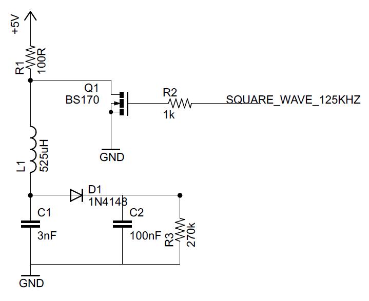 signal - Simple RFID reader - AM demodulator not working ...