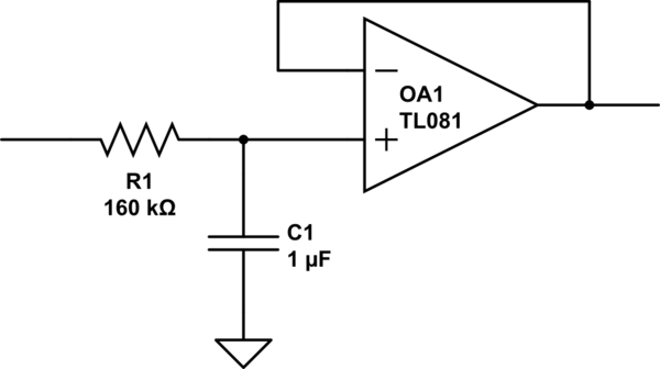 Analog filter resistors and capacitor tradeoffs