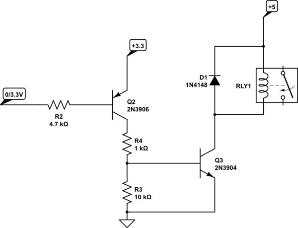 Npn Transistor Relay Driver