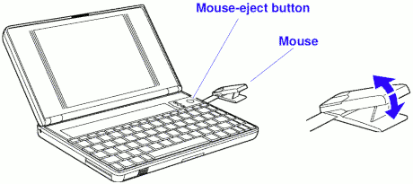 Did the computer mouse always output relative x/y and not