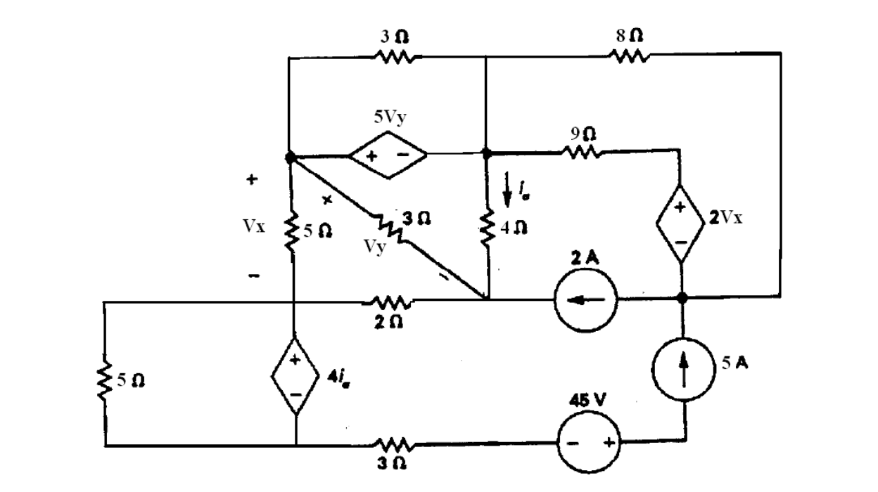 current in resistor in series with voltage and current