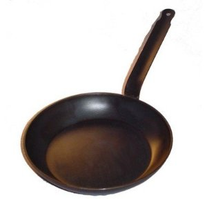equipment  Cast iron forged iron or carbon steel pan for