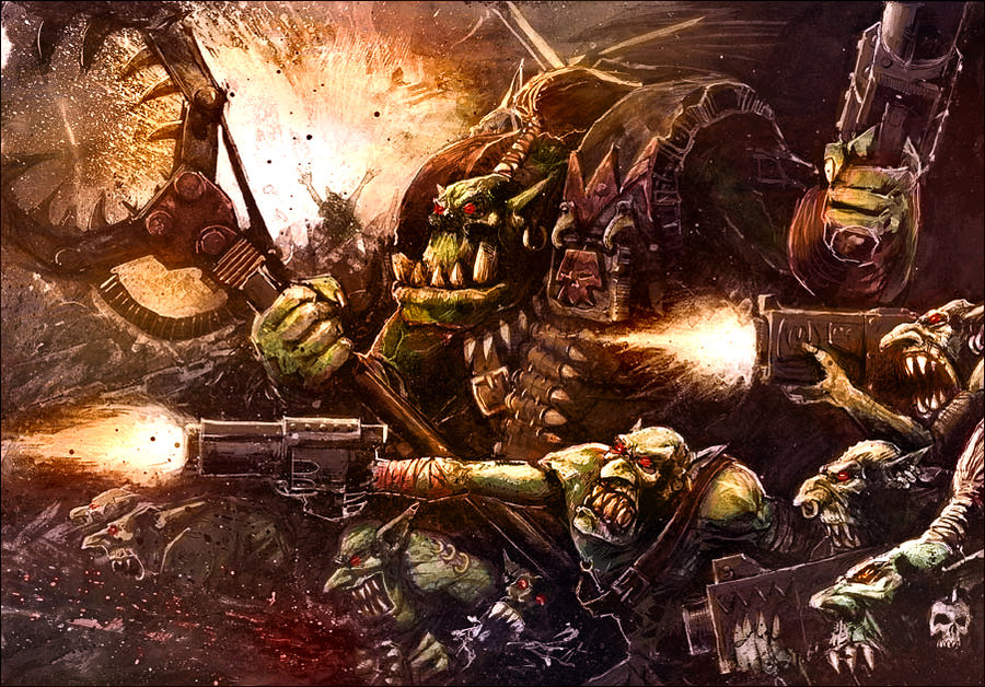 Aggressive Quotes Wallpapers Warhammer40k Do Orks Affect Non Orks With Their Latent