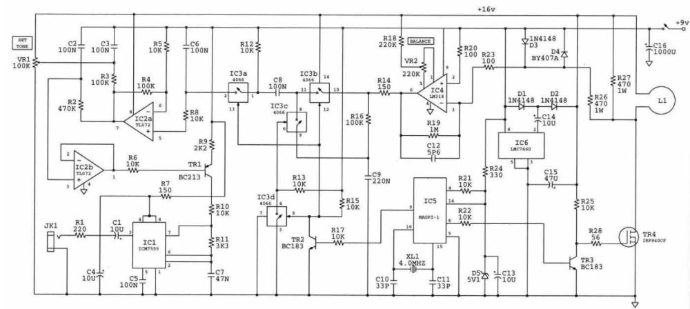 medium resolution of pulse induction metal detectors schematics wiring diagram blog induction metal detector circuit board on induction coil diagram