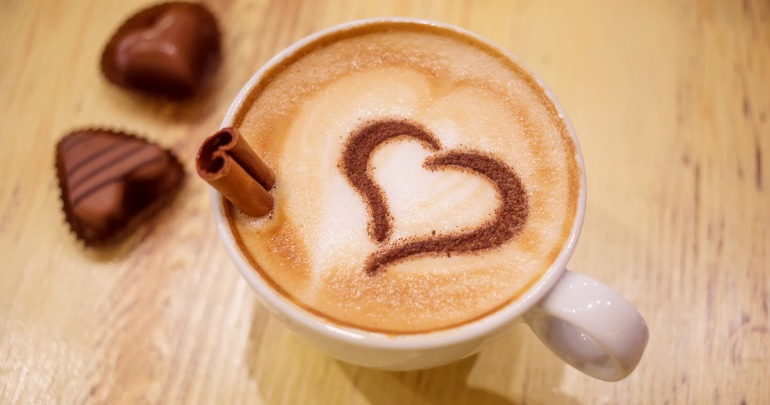 Image result for coffee heart