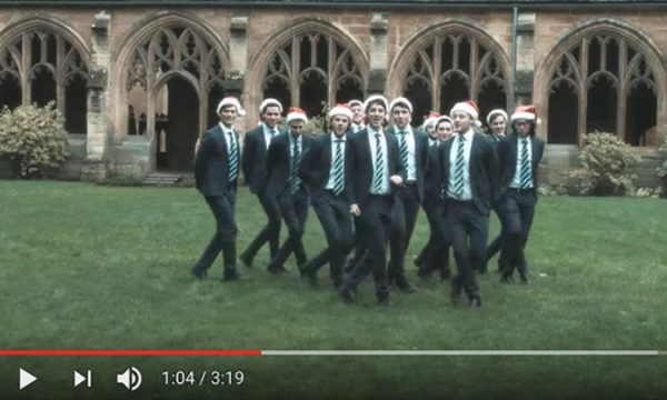 The Oxford University Acapella group singing All I want
