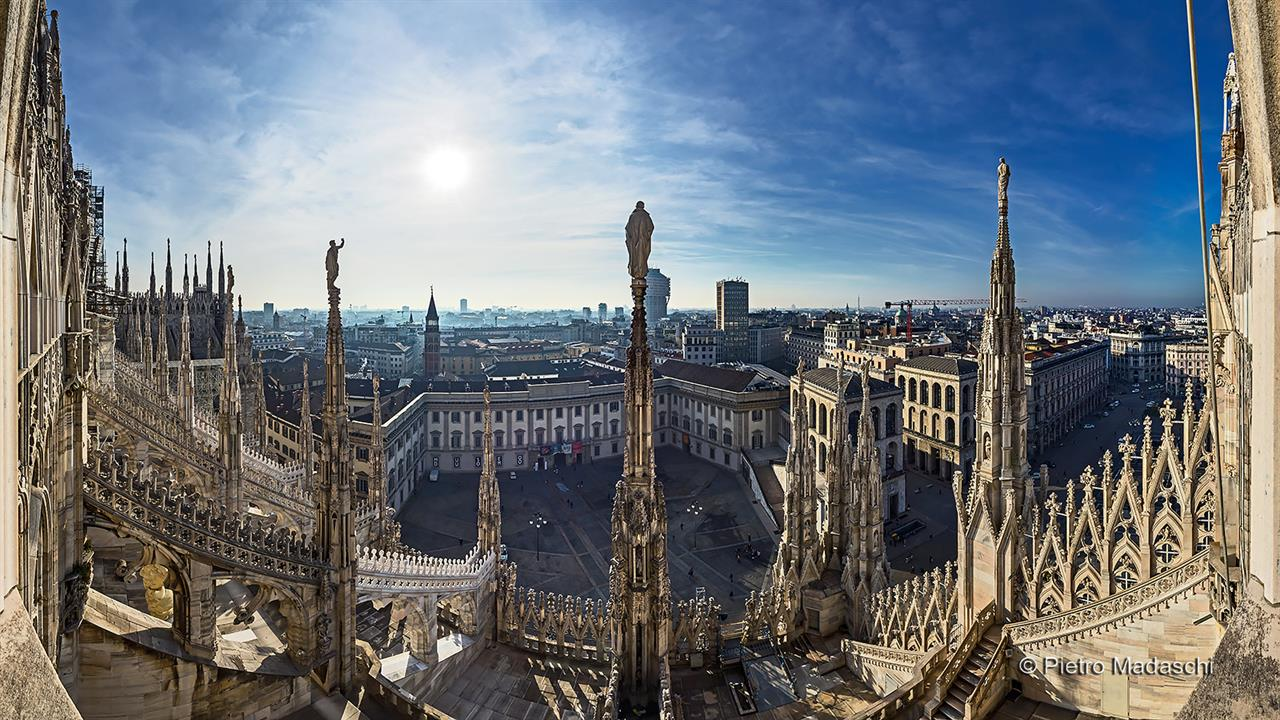 Terrazze  Duomo di Milano