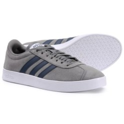 adidas VL Court 2.0 Casual Shoes (For Men) in Grey Four/Collegiate Navy/Footwear White