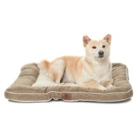 AKC Burlap Dog Bed