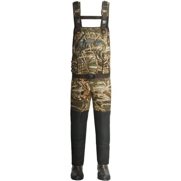 Allen . Guide Lx Camo Chest Waders 5mm Neoprene 1600g Thinsulate Duck Hunting