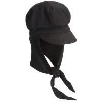 Betmar Boy Meets Girl Knit Cap - Attached Scarf (For Women ...