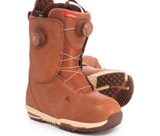 Burton Red Wing Supreme Leather Heat Snowboard Boots For Women In Redwing
