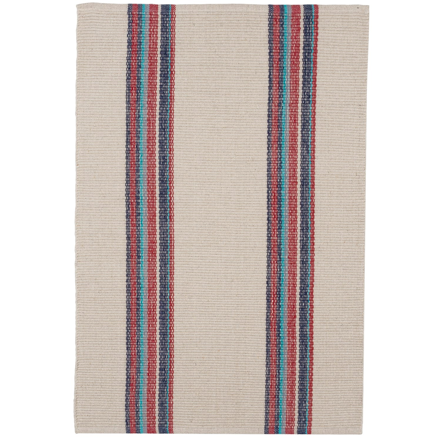 striped kitchen rug short wall cabinets caravan cotton dhurrie 2x3 save 58