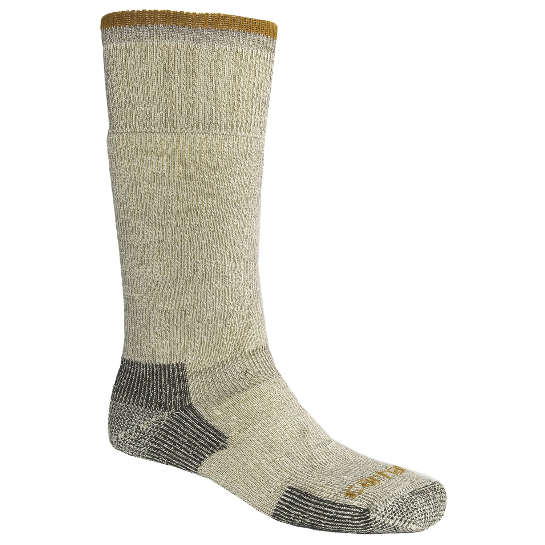 carhartt arctic wool boot socks heavyweight for men in heather grey p 5256x 03 1500 2