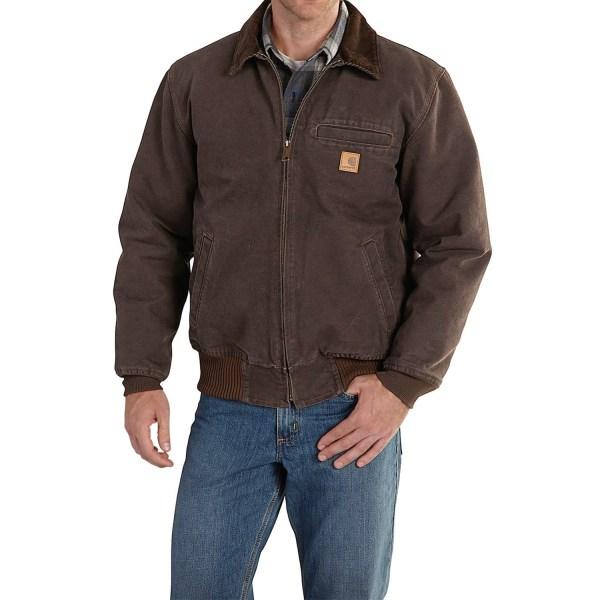 Carhartt Bankston Sandstone Duck Jacket Men
