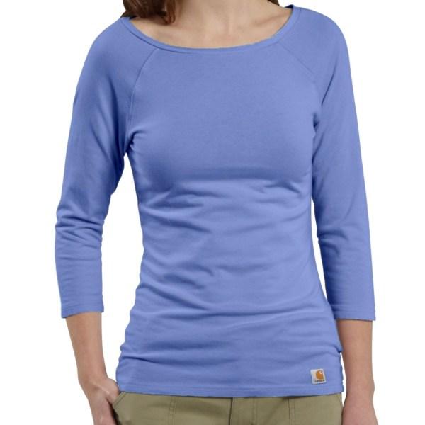Carhartt Raglan T-shirt - 3 4 Sleeve Women