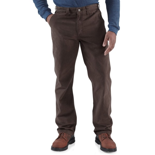 Carhartt Rugged Work Khaki Pants Men