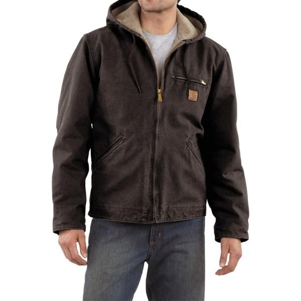 Carhartt Sandstone Sierra Jacket Tall Men