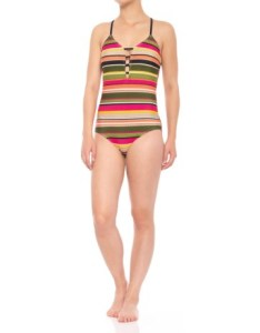 Coastal zone by jantzen strappy one piece swimsuit removable padded cups for women also rh sierratradingpost