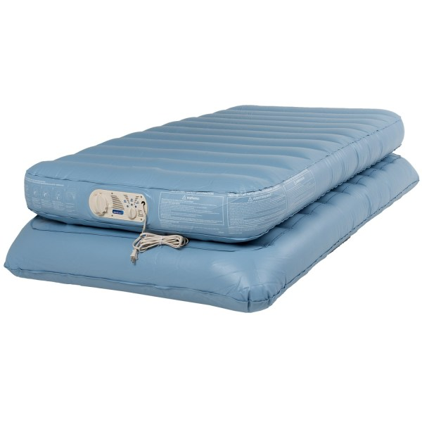 Coleman Aerobed Twin Air Mattress - Double Height 120v Pump Save 68