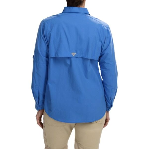Columbia Sportswear Pfg Bahama Shirt Women 4524a