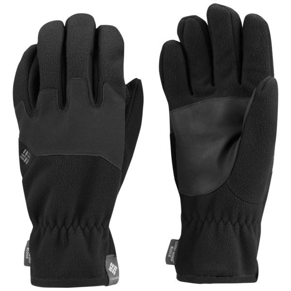 Columbia Sportswear Wind Bloc OmniHeat Gloves Fleece