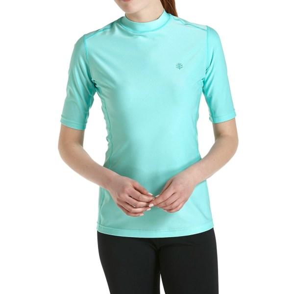 Coolibar Rash Guard T-shirt Women - Save 49