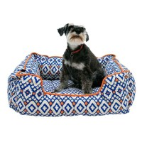 Cynthia Rowley Aztec Lounger Dog Bed - 28x22 - Save 67%