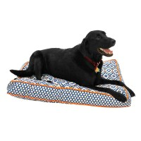 Cynthia Rowley Aztec Rectangle Dog Bed - 27x36 - Save 30%