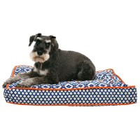 Cynthia Rowley Aztec Rectangle Dog Bed - 28x19 - Save 41%