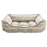 Cynthia Rowley Hudson Stripe Lounger Dog Bed - 28x22 ...