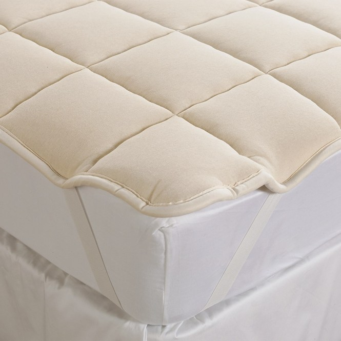Downtown Wool Filled Mattress Pad California King Item 9727k