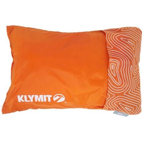 klymit drift camp pillow orange from sierra accuweather