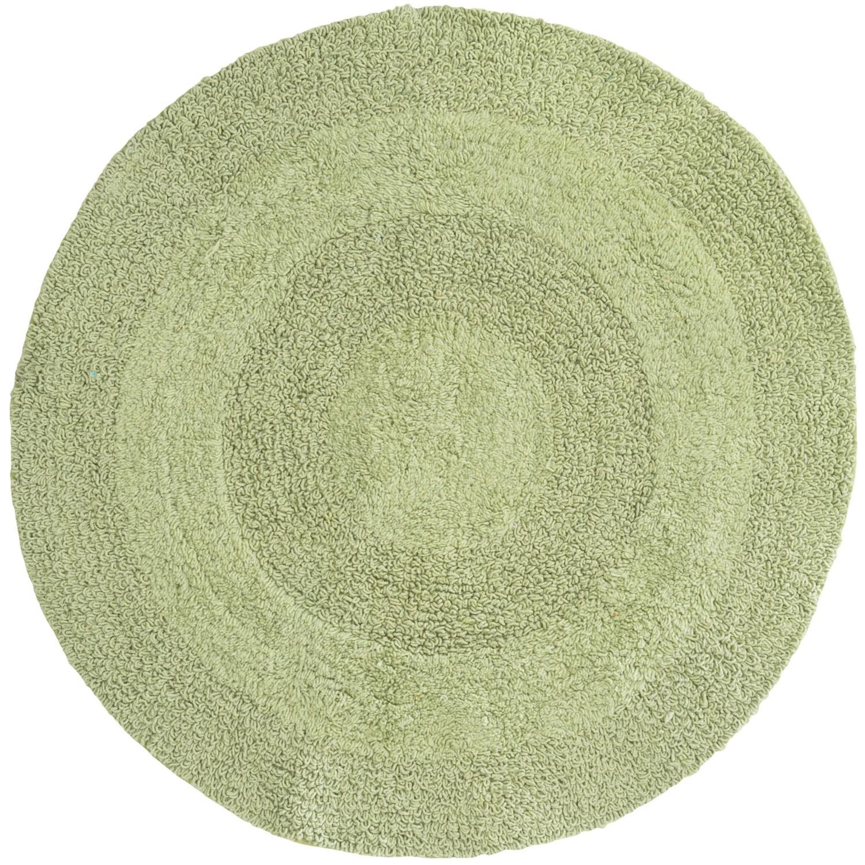 Espalma Reversible Round Bath Rug  Cotton  Save 35
