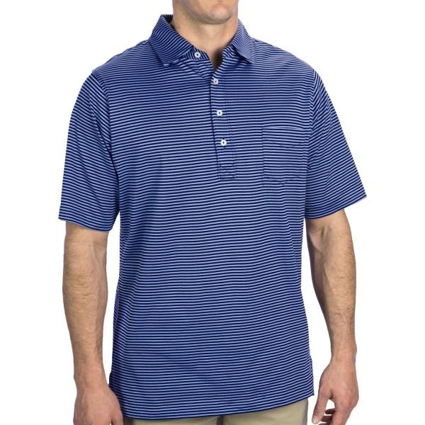 Fairway & Greene Spencer Pureformance Stripe Polo Shirt