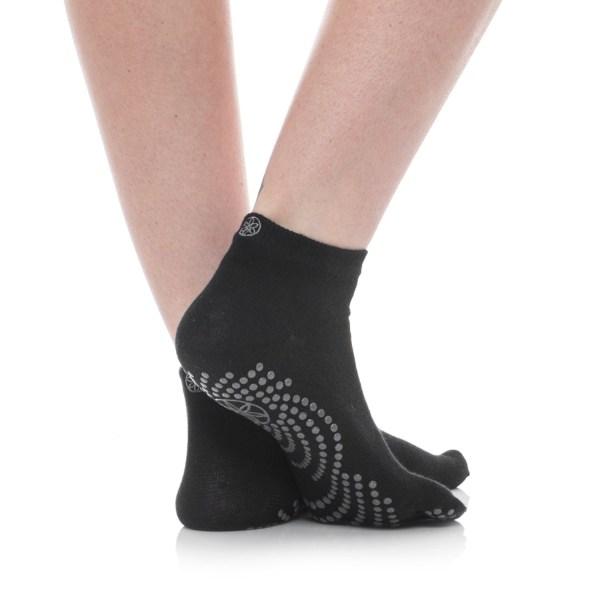 Gaiam Grippy Yoga Socks - Ankle Save 64