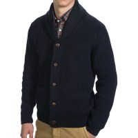 Mens Cardigan And Shawl Collar