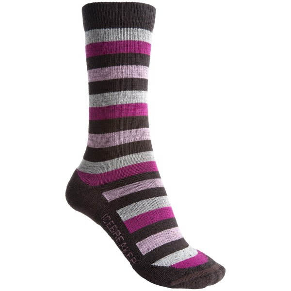 Icebreaker City Lite Socks - Merino Wool Crew Women Save 35