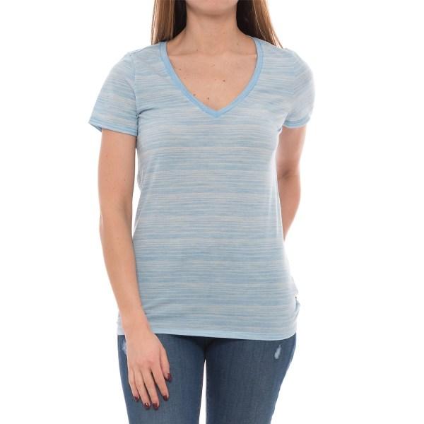 Icebreaker Tech Lite Stripe Shirt Women - Save 20