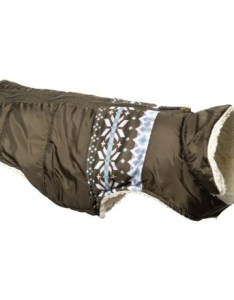 Jla friends forever large yoke print active dog coat in olive closeouts also average savings of at sierra rh
