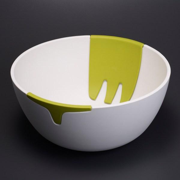 Joseph Hands- Salad Bowl And Servers 121ca - Save 53